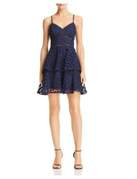 Tiered Star Lace Dress   100 Percents Exclusive by Aqua