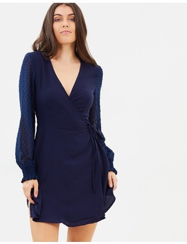 Iconic Exclusive   Adalyn Wrap Dress by Atmos&Here