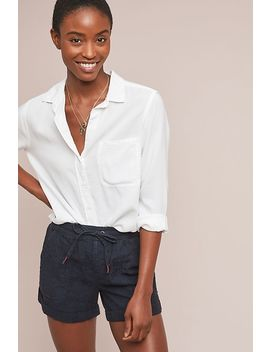 Linen Shorts by Anthropologie