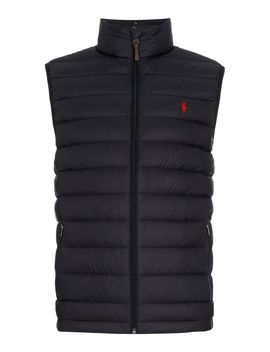 Lightweight Down Gilet by Polo Ralph Lauren
