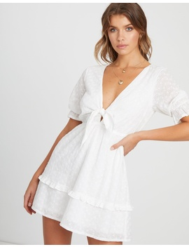 Xanthe Broderie Mini Dress by Atmos&Here