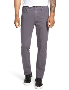 Everett Houndstooth Slim Fit Pants by Ag