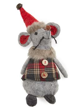 Christmas Mouse Decoration by Melrose Gifts