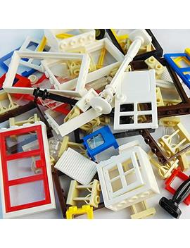 Taken All 82 Piece Windows & Doors & Fences Sets Building Block Toy  Compatible Major Brands Children Gifts by Taken All