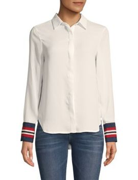 Classic Long Sleeve Blouse by Lea & Viola