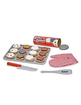 Melissa & Doug Personalized Slice And Bake Wooden Cookie Play Food Set by Melissa & Doug
