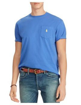 Polo Crewneck Classic Fit Tee by Polo Ralph Lauren