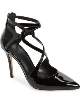 Catia Cross Strap Pump by Michael Michael Kors
