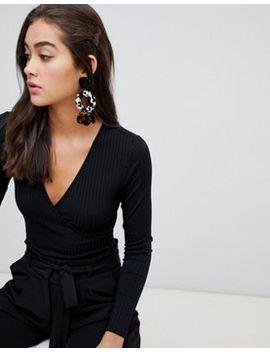 New Look   Body Cache Cœur   Noir by New Look