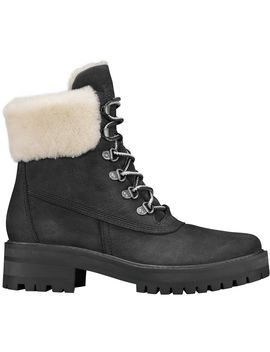 Courmayeur Valley 6in Authentic Shearling Lining Boot   Women's by Timberland