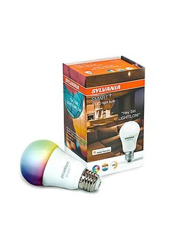 Sylvania Smart A19 Full Color Led Bulb, Works With Apple Home Kit And Siri Voice Control, No Hub Required, 74484 (Bluetooth Edition), 1 Pack, Adjustable White by Sylvania Smart