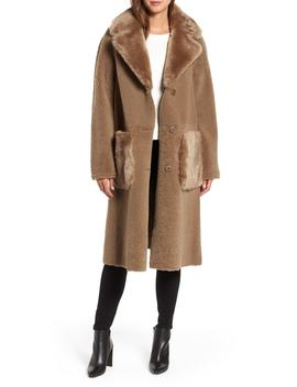 Genuine Merino Shearling Coat by Hiso