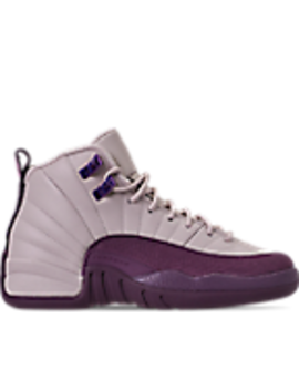 Girls' Big Kids' Air Jordan Retro 12 Basketball Shoes by Nike