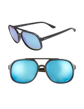 57mm Polarized Navigator Sunglasses by Ray Ban