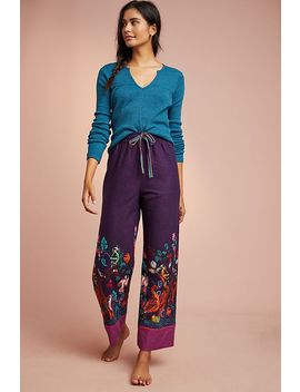 Flannel Sleep Pants by Nathalie Lete For Anthropologie