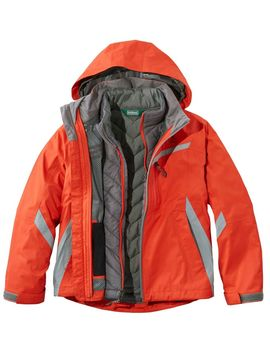 Boys' Peak Waterproof Insulated 3 In 1 Jacket by L.L.Bean