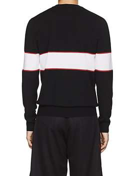 Logo Knit Wool Sweater by Givenchy