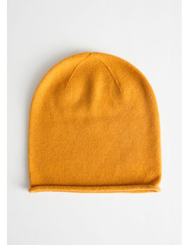 Cashmere Knit Beanie by & Other Stories