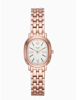 Staten Rose Gold Tone Bracelet Watch by Kate Spade