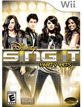Disney Sing It: Party Hits   Nintendo Wii by By          Disney Interactive Studios