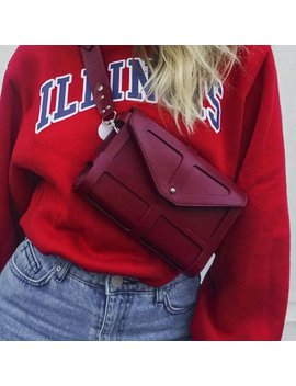 Real Leather Crossbody Bag, Harness Bag, Waist Bag, Shoulder Bag, Purse, Fashion Bag, Womens Purse, Leather Clutch by Etsy