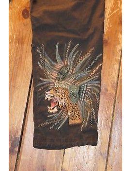 Mens Maharishi Cheetah Embroidered Snowpants Trousers Size Medium 32x30 by Ebay Seller