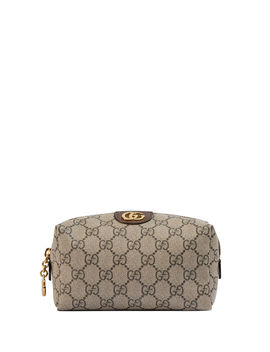 Ophidia Small Gg Supreme Cosmetics Clutch Bag by Gucci
