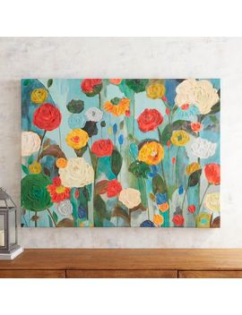 Vibrant Blooms Art by Pier1 Imports