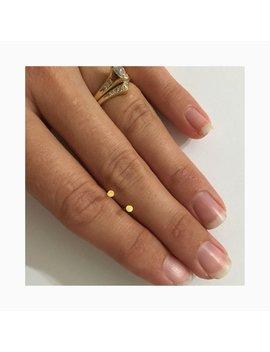 Tiny Stud Earrings / Minimalist Dot Stud Earrings / Gold Stud Earrings by Etsy