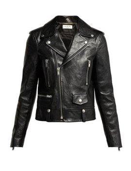 Leather Jacket by Saint Laurent