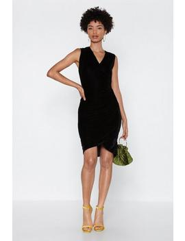 To The Gala Velvet Dress by Nasty Gal