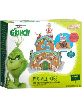 Crafty Cooking Kits Grinch Whoville Gingerbread House Kit by Crafty Cooking Kits