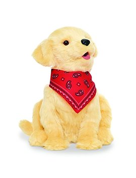 Joy For All Ageless Innovation Companion Pets | Golden Pup | Lifelike & Realistic | For Older Adults, Alzheimer's Disease, Dementia & Memory Loss by Joy For All