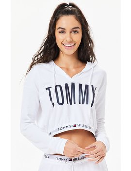 Tommy Hilfiger Logo Pullover Hoodie by Pacsun