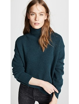 Valeria Cashmere Turtleneck Sweater by 360 Sweater