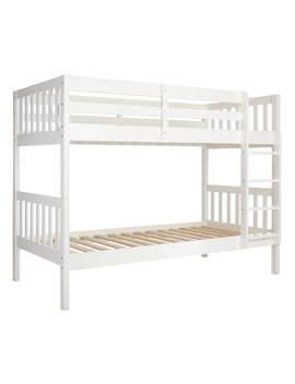 John Lewis & Partners Wilton Bunk Bed, White by John Lewis & Partners