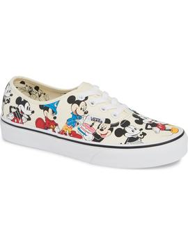 X Disney Ua Authentic Micky Mouse Sneaker by Vans
