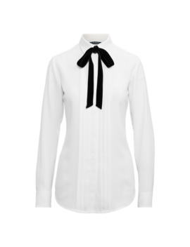 Triple Georgette Shirt by Ralph Lauren