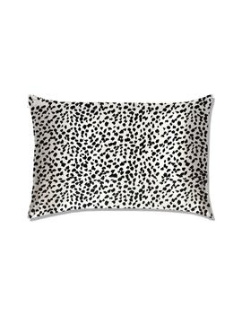 Slip™ For Beauty Sleep™ Black & White Leopard Pillowcase by Slip For Beauty Sleep