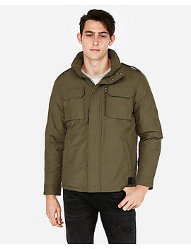 Nylon Five Pocket Jacket by Express