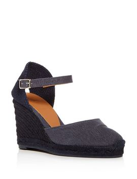 Women's Platform Wedge Espadrille Sandals by Castañer