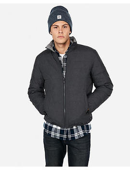 Reversible Water Resistant Puffer Jacket by Express