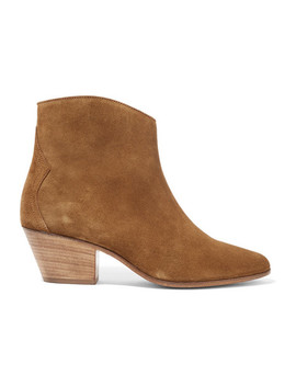 Dacken Ankle Boots Aus Veloursleder by Isabel Marant