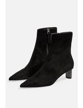 Mane Jewel Ankle Boots by Topshop