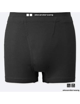 Men Alexander Wang Heattech Ribbed Boxer Briefs by Uniqlo