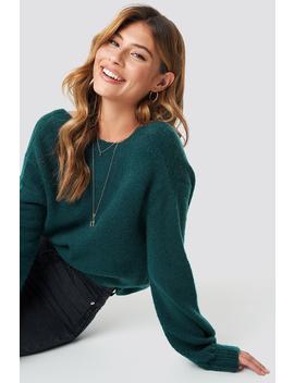 Deep Back Wrap Sweater by Linn Ahlborg X Na Kd