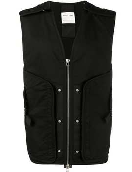 Utility Zip Up Vest by Helmut Lang