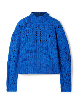 Jilly Merino Wool Turtleneck Sweater by Isabel Marant