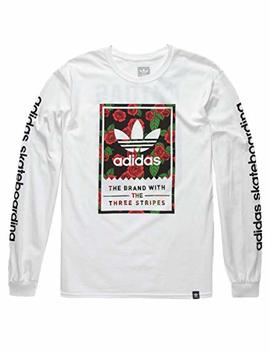 Adidas Classic Print Rose T Shirt by Adidas