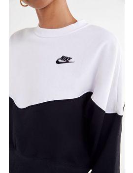 Nike Colorblock Crew Neck Sweatshirt by Nike